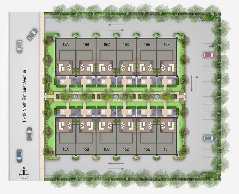 Park Terrace TownHomes Site Plan