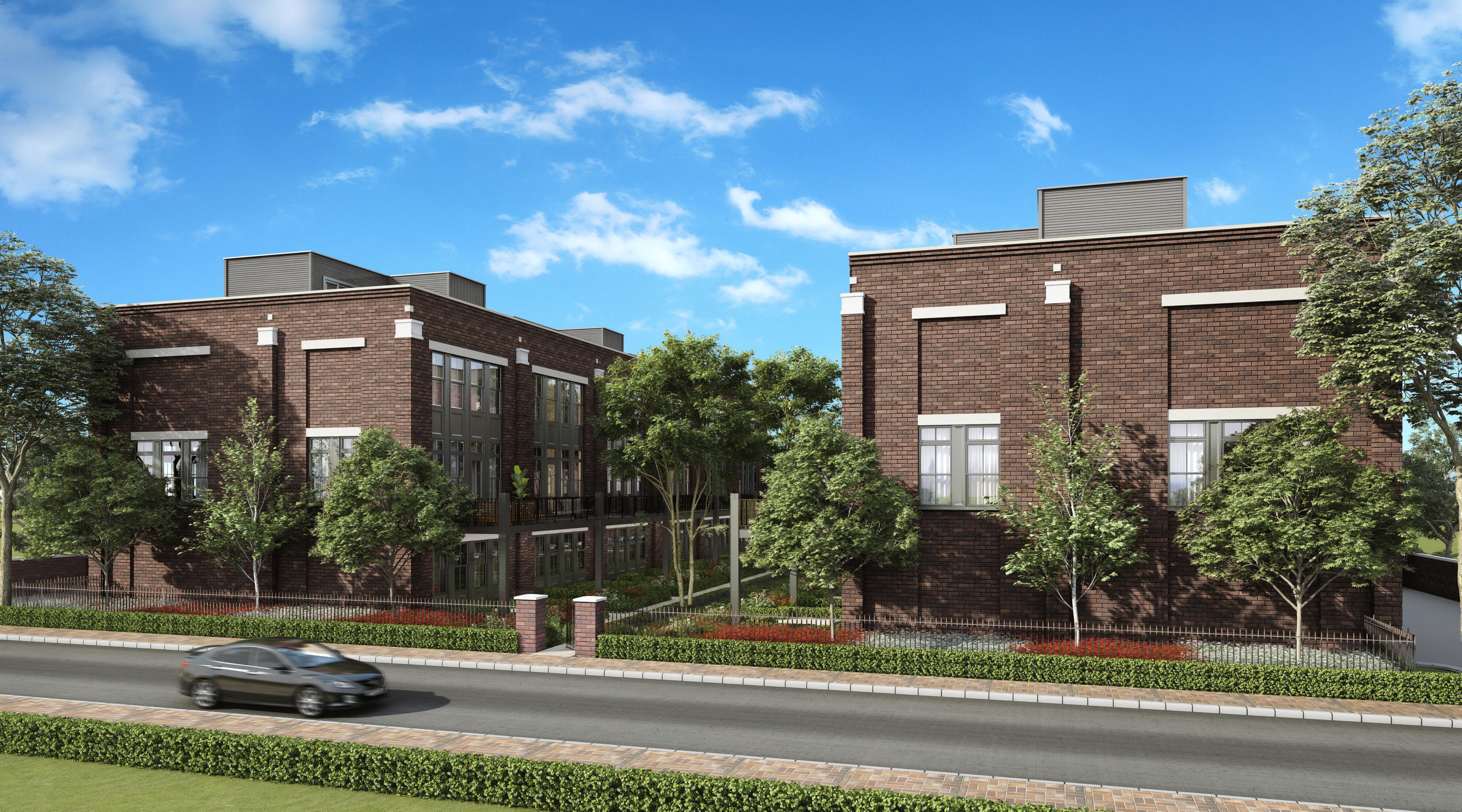 Park Terrace Row Homes downtown Mt. Prospect